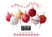 Sweet Truffles Holiday Logo Cards
